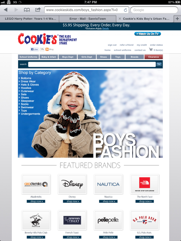 CookiesKids fashion brands