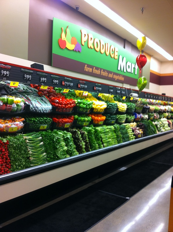 Produce Section at Smart & Final