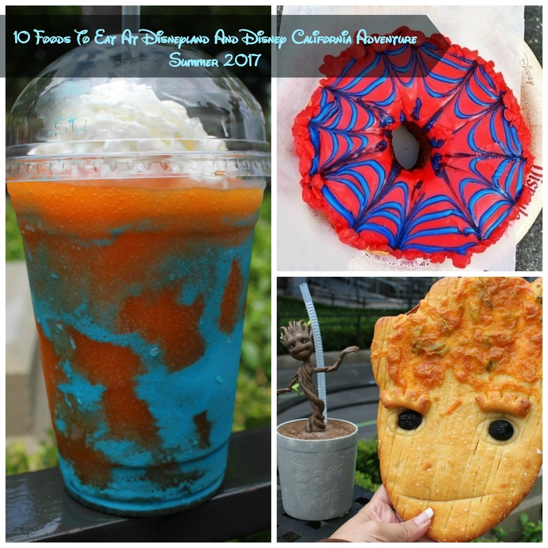 10 Foods To Eat At Disneyland And Disney California Adventure Summer 2017
