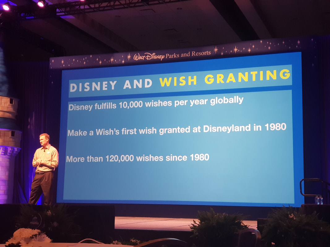 John Breckow, Director of Corporate Citizenship for Walt Disney Parks & Resorts
