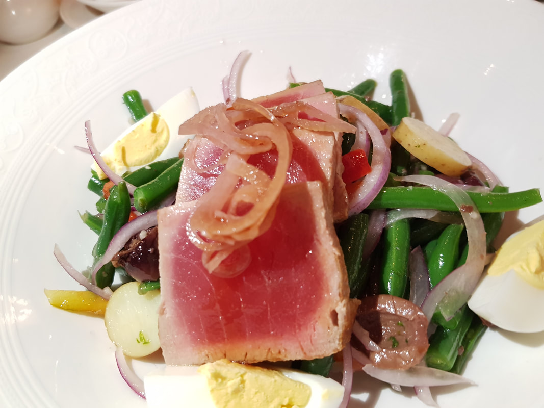 Ahi Tuna Nicoise Disney Dream