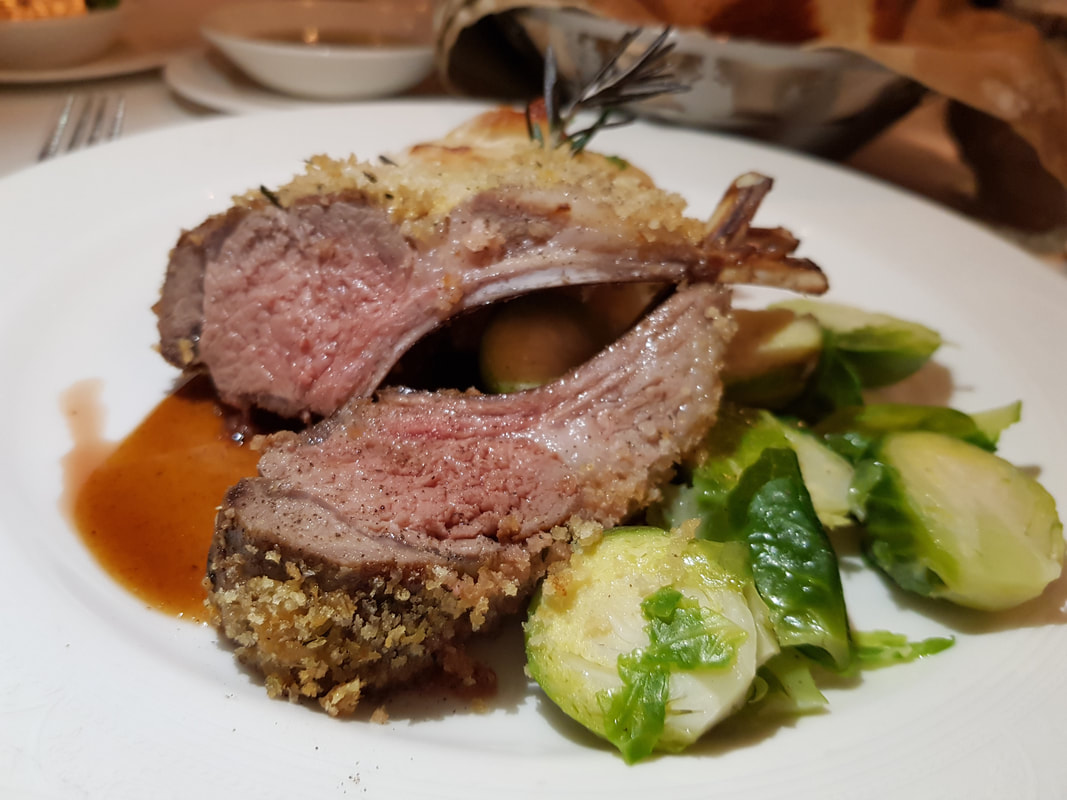 Roasted Rack of Lamb Disney Dream