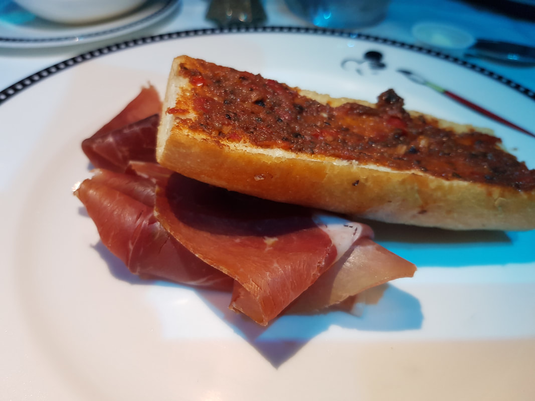 Sliced Serrano Ham Disney Dream