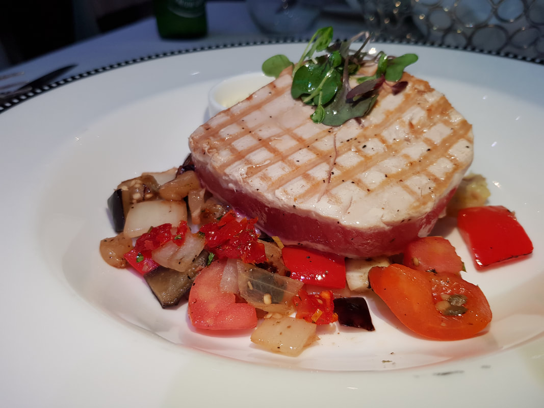 Grilled Tuna Steak Disney Dream
