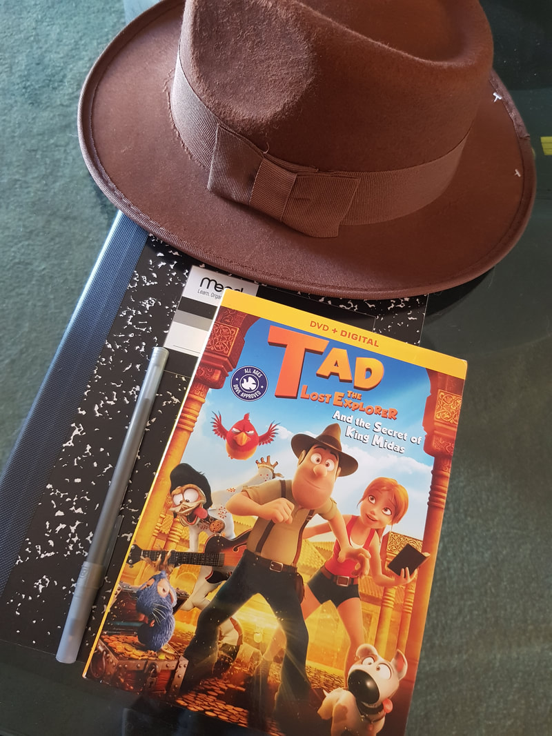 Tad the Lost Explorer and the Secret of King Midas arriving on DVD