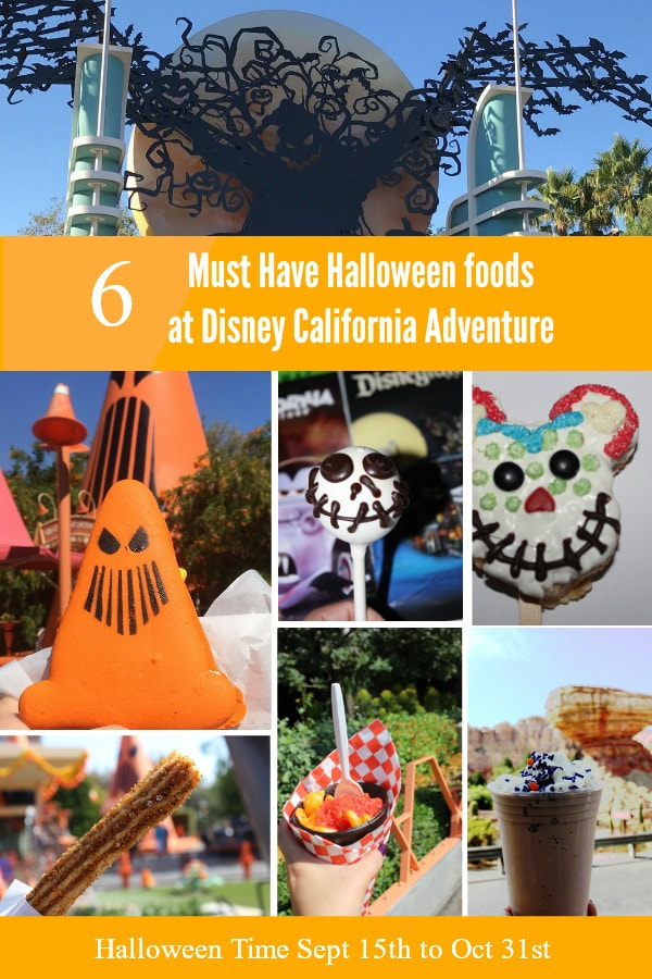 6 Must Have Halloween foods at Disney California Adventure