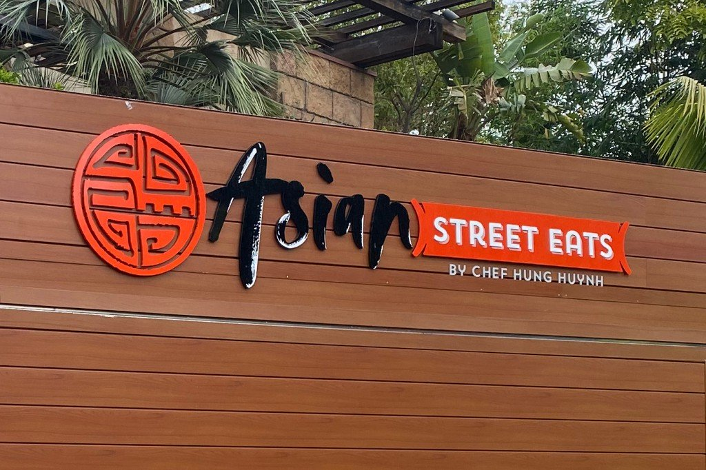Asian Street Eats a new place to eat at Downtown Disney