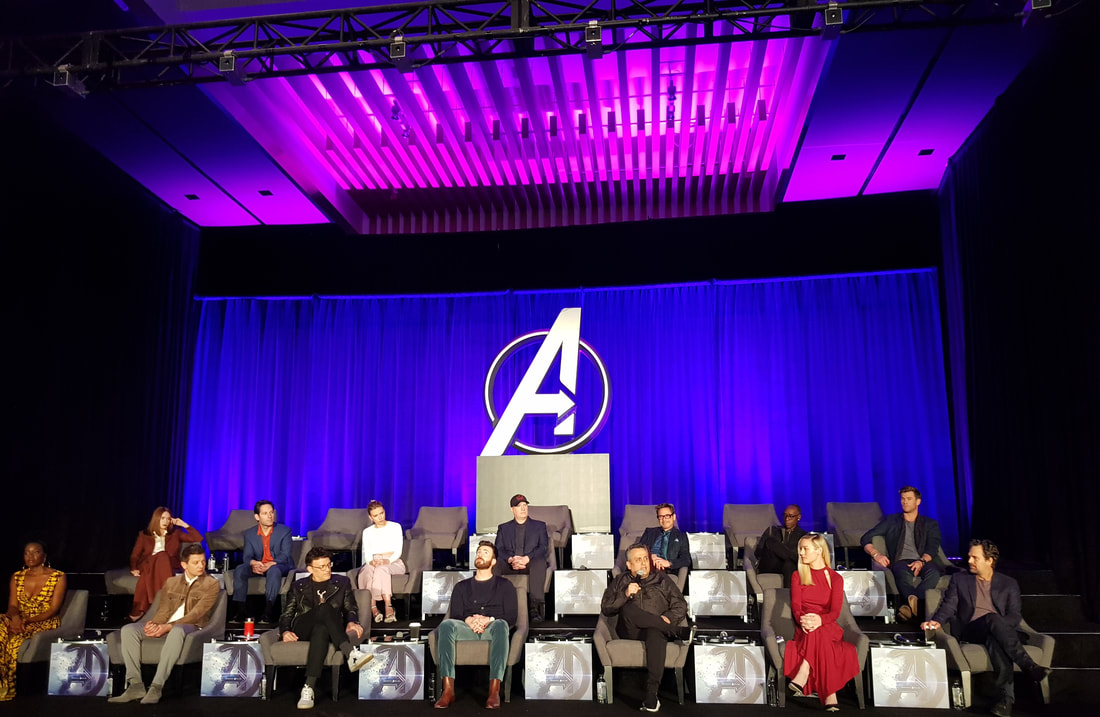 What really happened during the Avengers: Endgame LA press conference