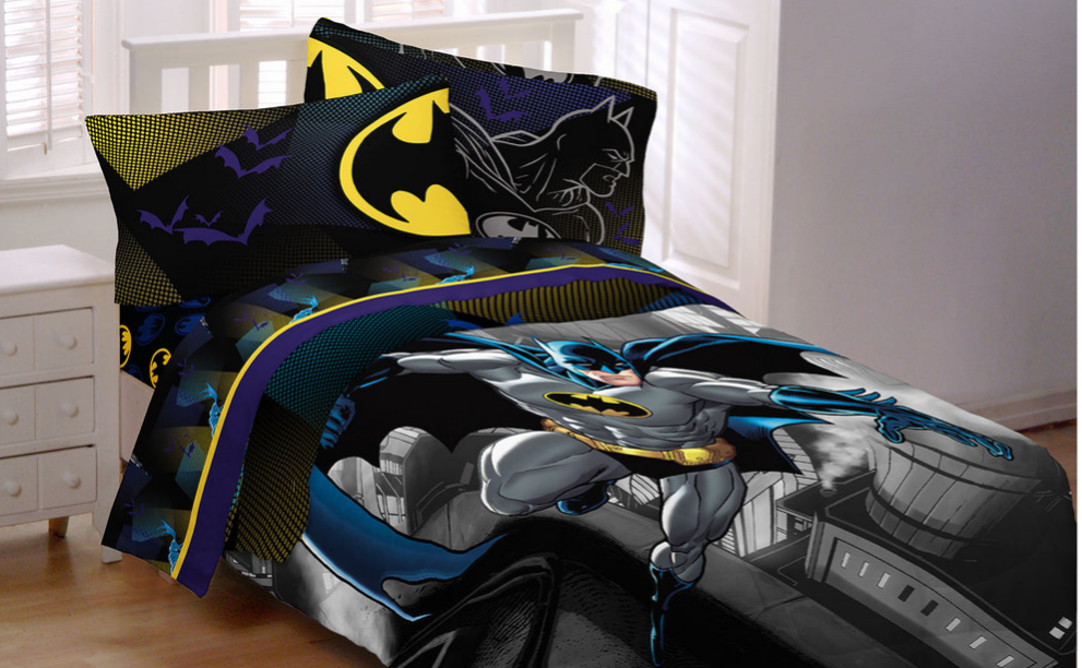 Get The House Ready For Little Guests With Batman Bedding
