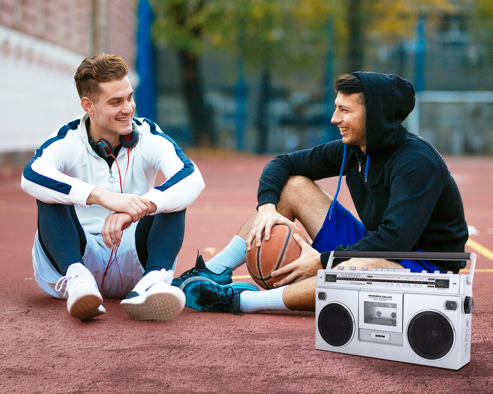 Ion Boombox Deluxe Bluetooth Speaker From Best Buy