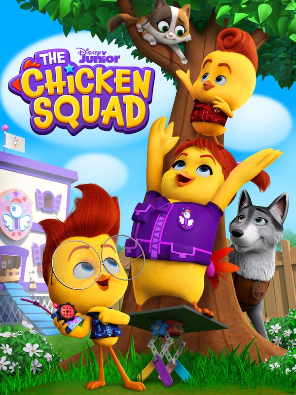 "Disney Junior's""THE CHICKEN SQUAD""Debuts May 14"
