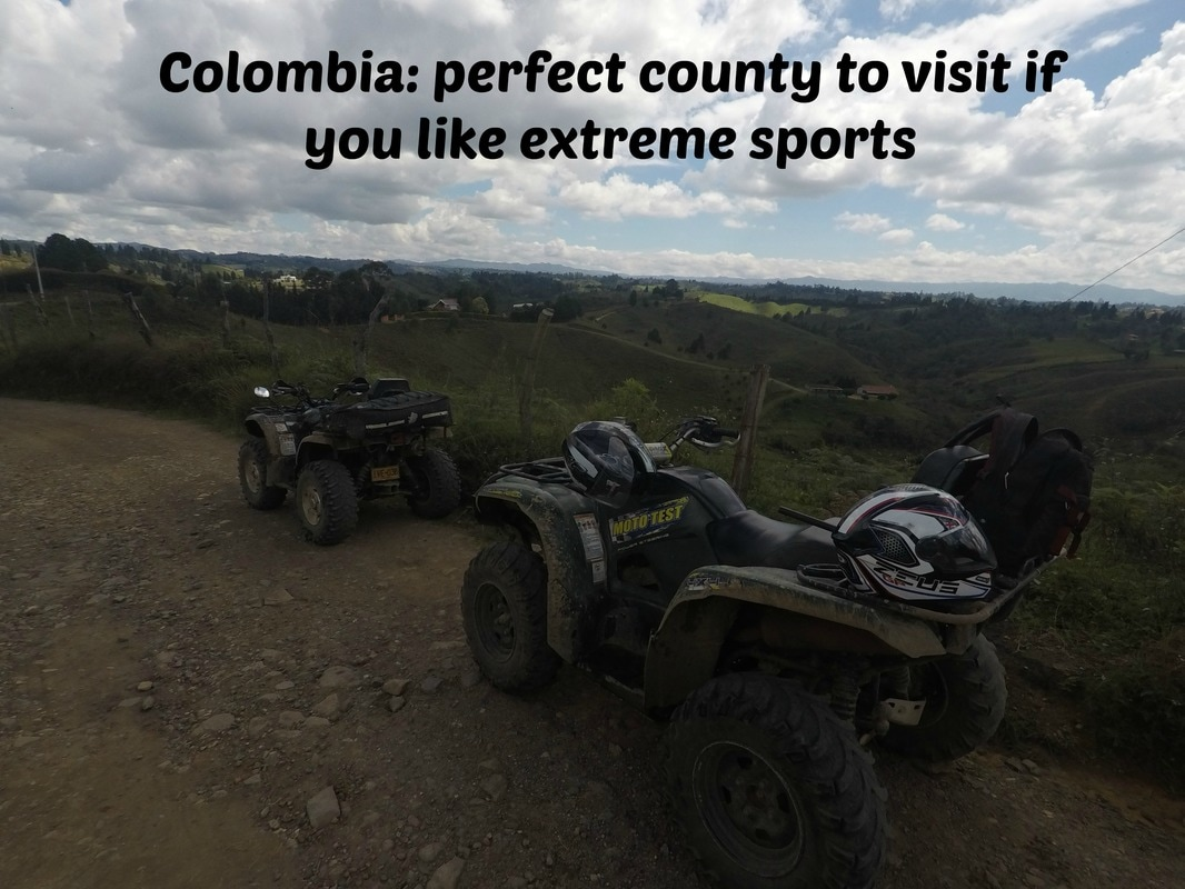 Colombia: perfect county to visit if you like extreme sports