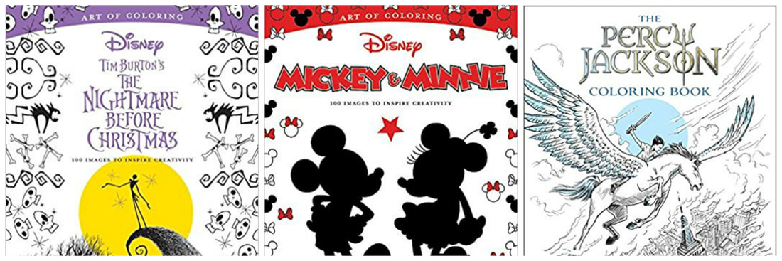 Disney Coloring Books for your Disney Vacation