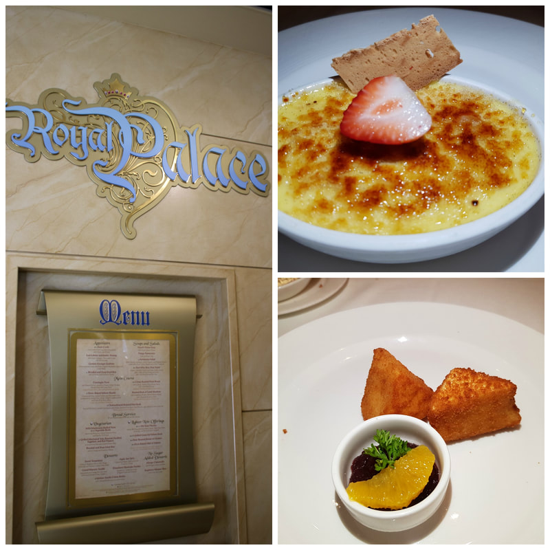 Desserts Royal Palace Disney Dream