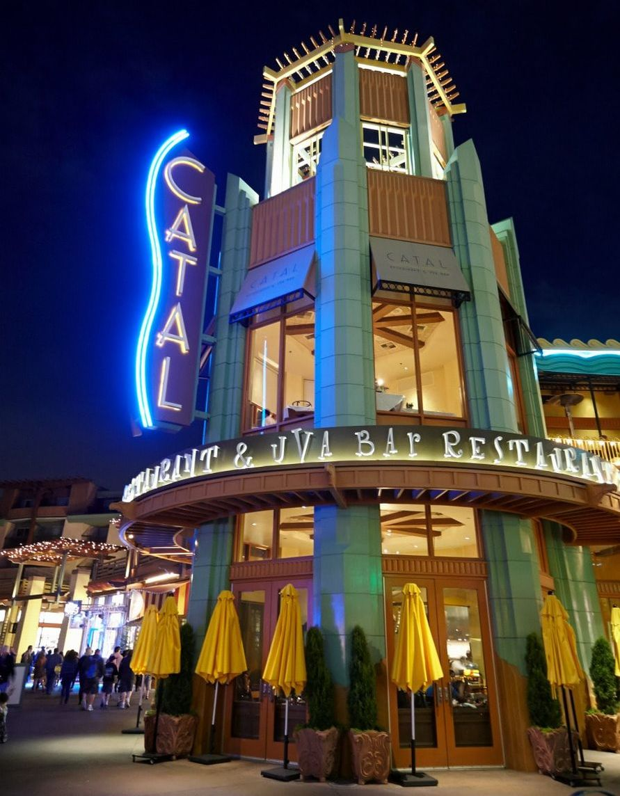 Celebrate Valentine's Day with Dinner at Catal Restaurant in Downtown Disney