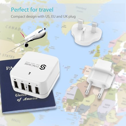 USB wall charger for your Disney Vacation