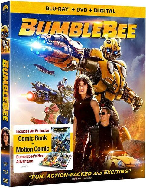 Bumblebee now on Blu-ray, DVD and Digital