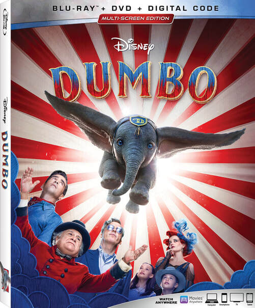 Dumbo Comes Home On Digital, 4K Ultra HD™, Blu-ray™ and Movies Anywhere June 25