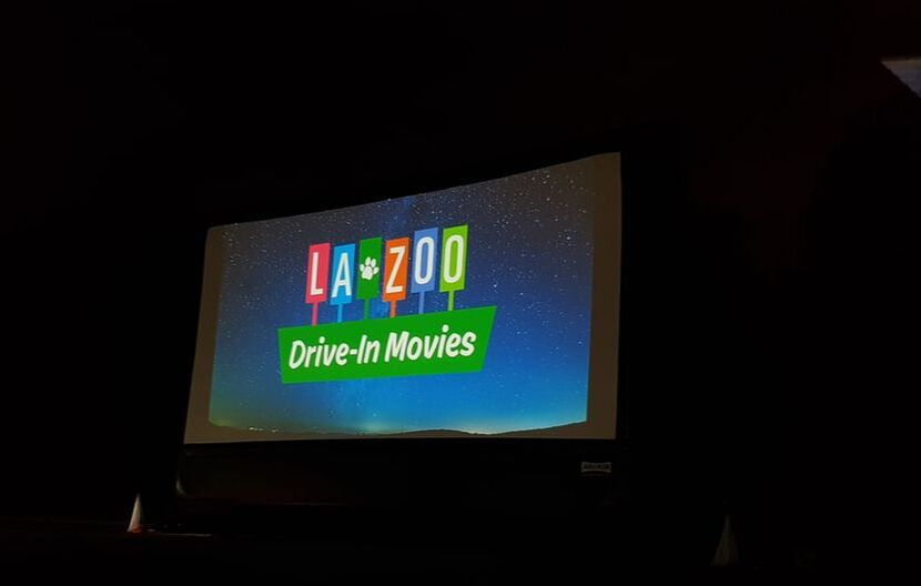 L.A. Zoo Drive-in movie Halloween Nights