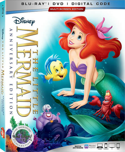 The Little Mermaid turns 30th and we celebrated with a a mer-movie night