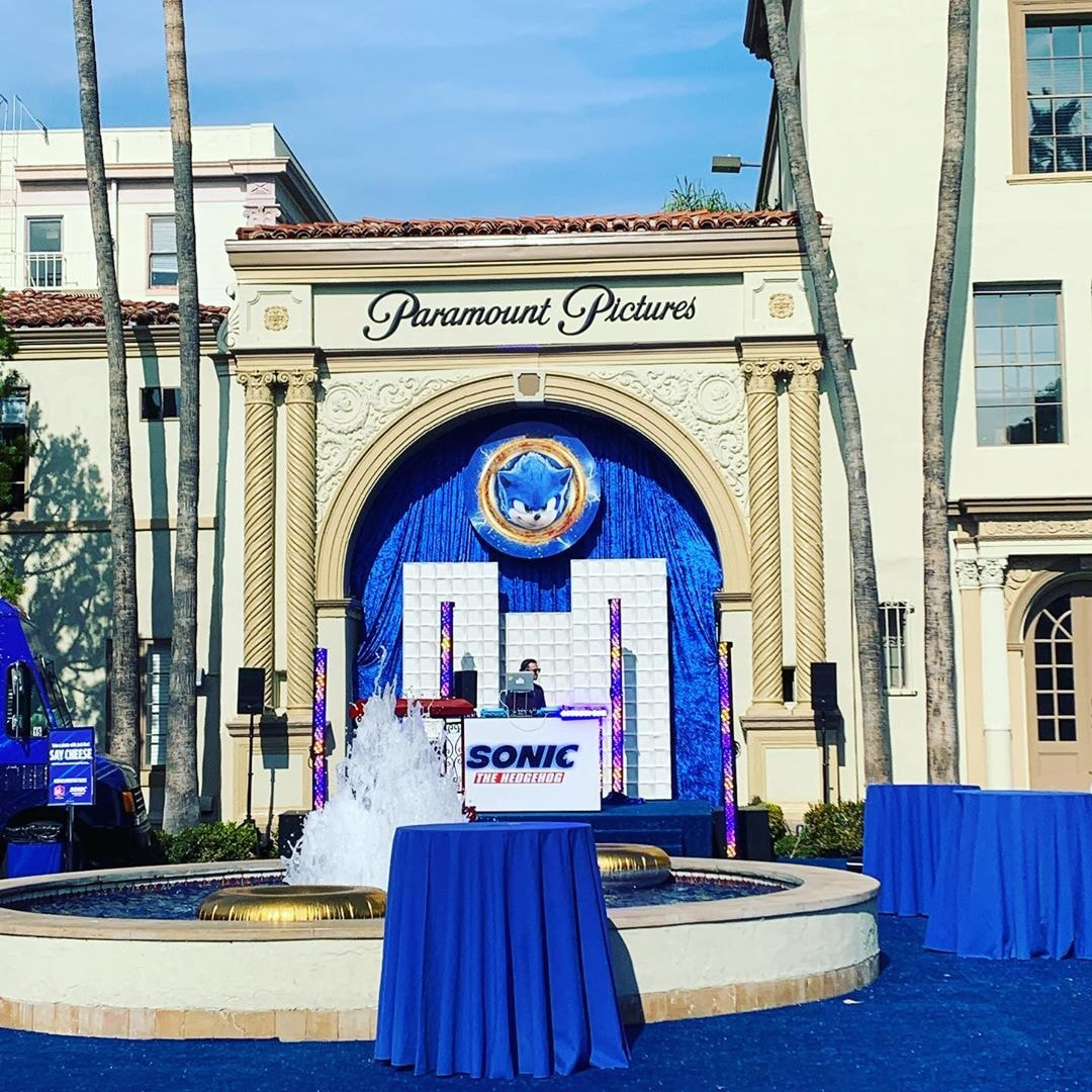 SONIC THE HEDGEHOG Blue Carpet Screening and Family Day Event in Los Angeles