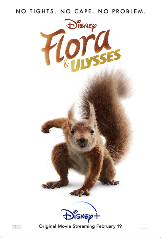Flora & Ulysses coming to Disney +