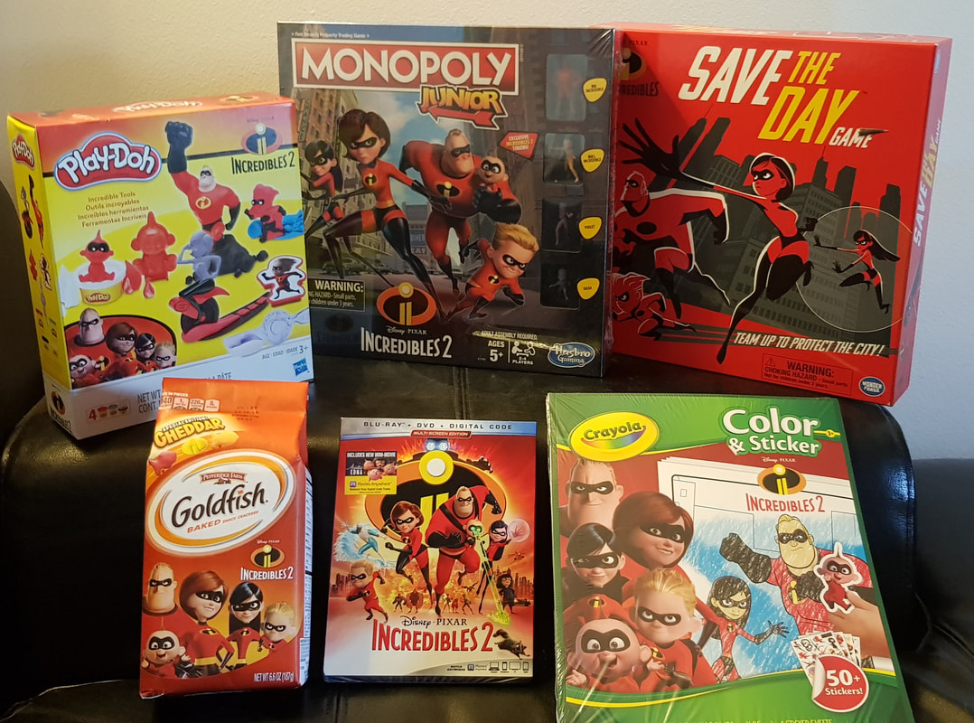 Incredibles 2 Game Night And Blu-Ray Release