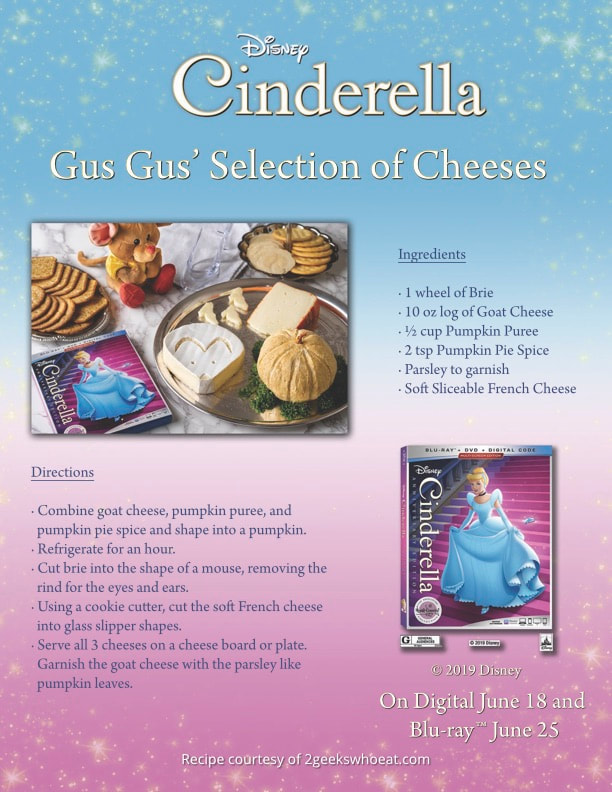 Cinderella: Anniversary Edition Coming on Digital June 18th and Blu-ray June 25th