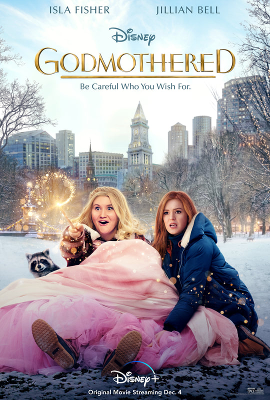 Godmothered streaming on Disney + December 4th