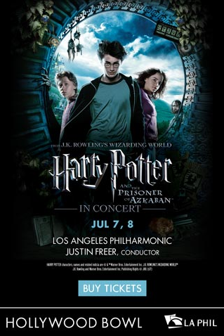 Harry Potter Hollywood Bowl