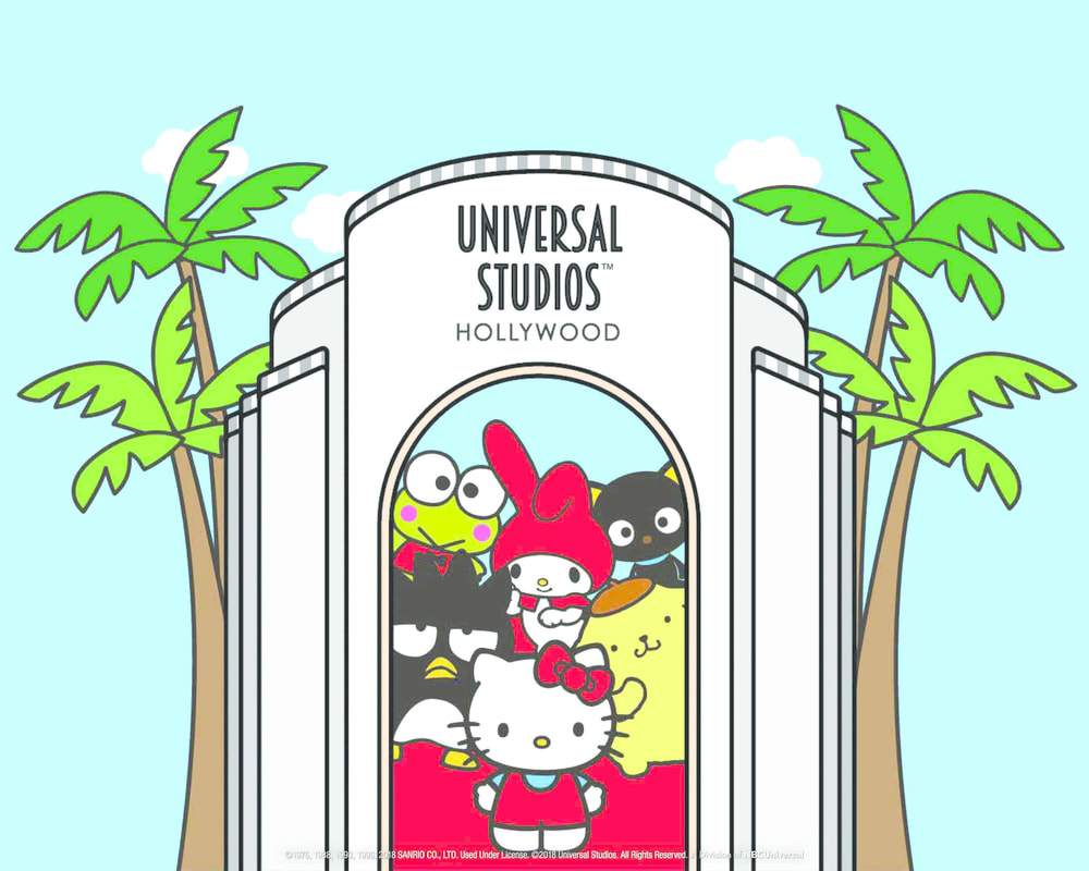 Hello Kitty/Animation Studio Store now open at Universal Studios Hollywood