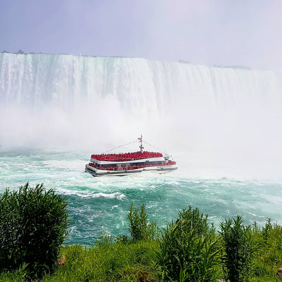 Get close and personal with Niagara Falls: Hornblower Cruises