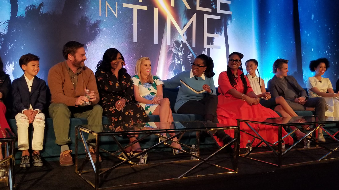 Meet the talent of Wrinkle in Time