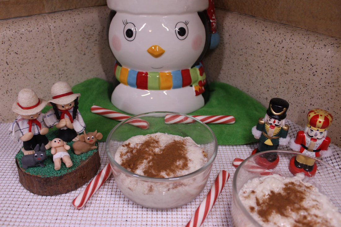 Holiday Traditions and Eggnog Rice Pudding Recipe