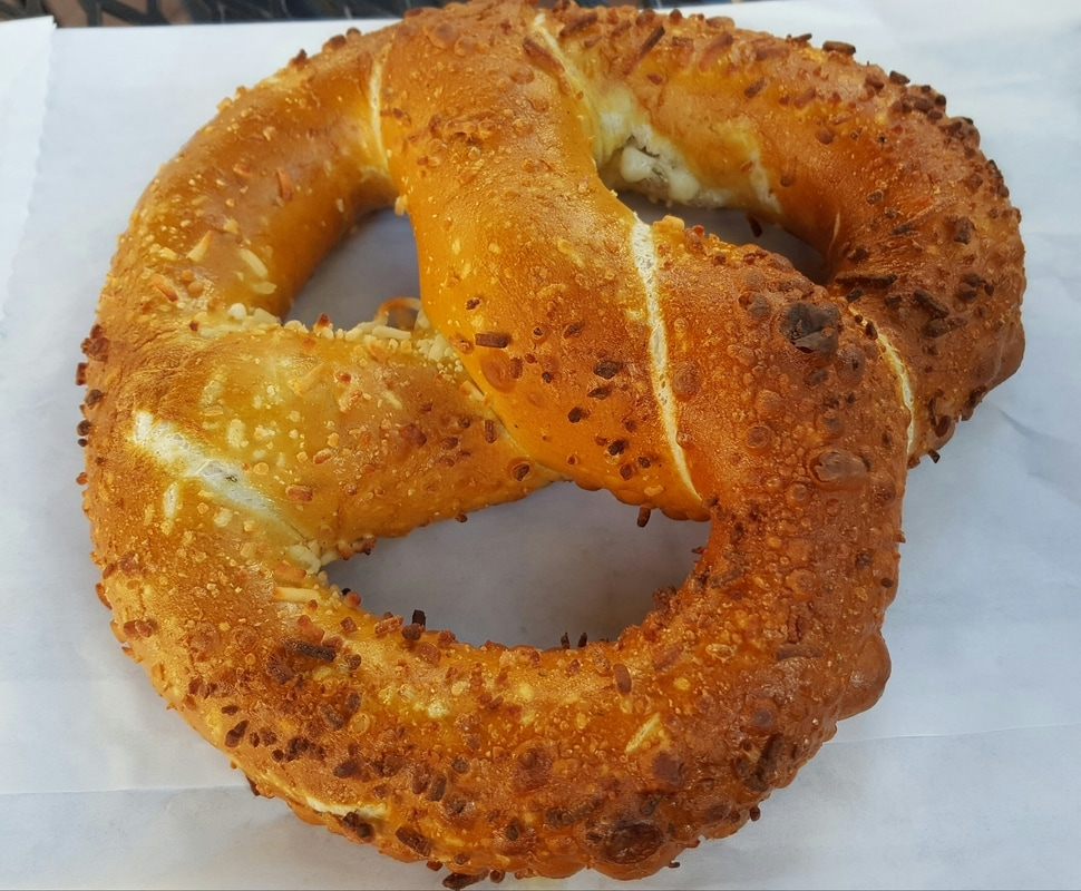Jalapeño Cheese Pretzel at Catalina Coffee & Cookie Co.