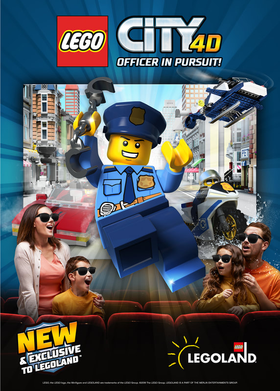 LEGOLAND CALIFORNIA® OPENS NEW 4D FILMLEGO® CITY 4D – OFFICER IN PURSUIT!