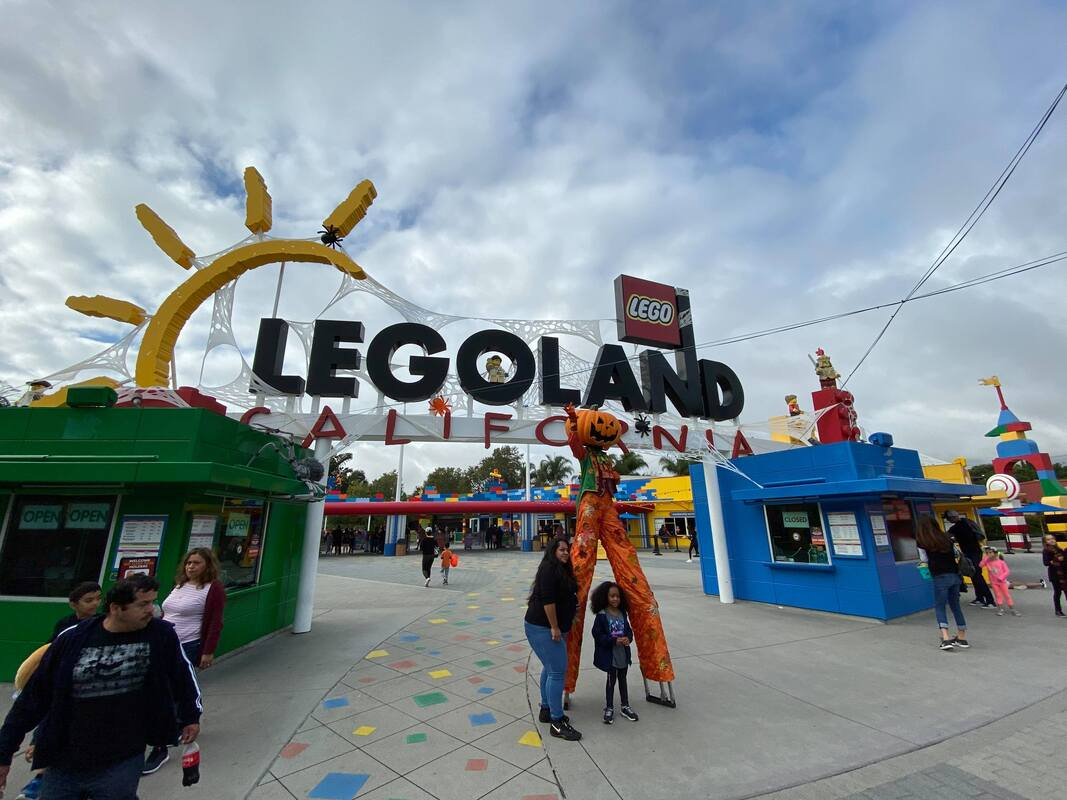 LEGOLAND Brick-or-Treat Party Nights 2019