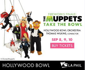 Muppets Hollywood Bowl