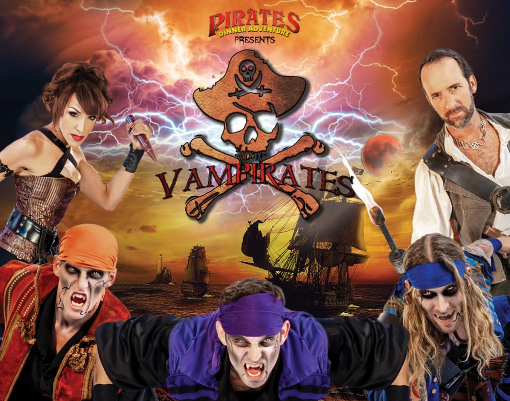 Vampirates At Pirates Dinner Adventure