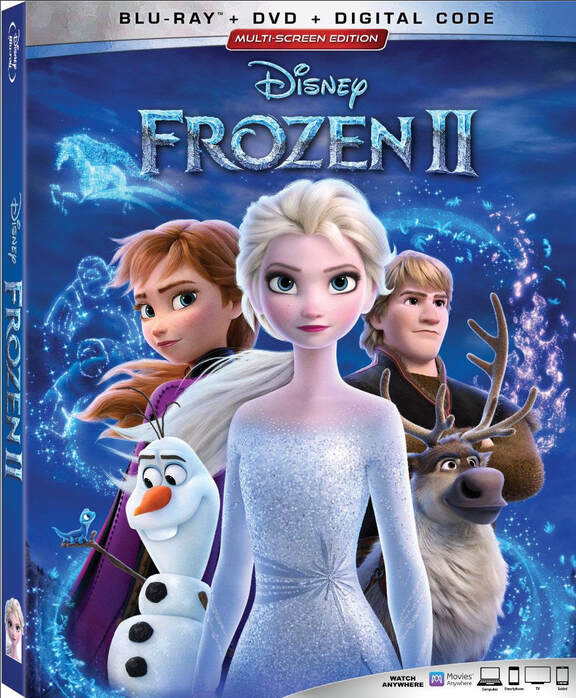 Frozen 2 Blu-Ray giveaway