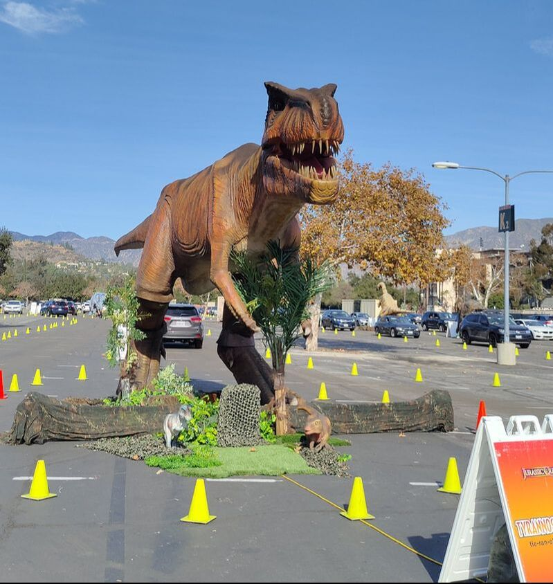 Jurassic Quest Drive-Thru Experience Coming To Southern California