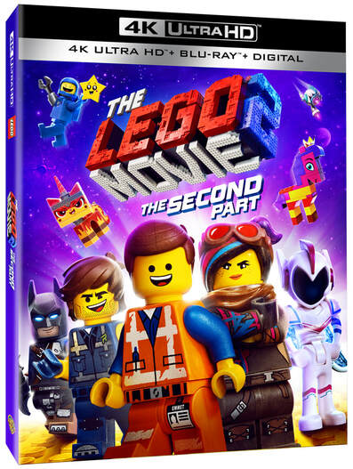 The LEGO® Movie 2: The Second Part available on Blu-Ray May 7th