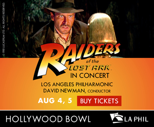 ​ Raiders of the Lost Arc Hollywood Bowl