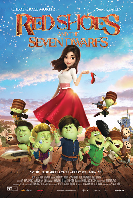 Red Shoes and the Seven Dwarfs Blu-ray Giveaway