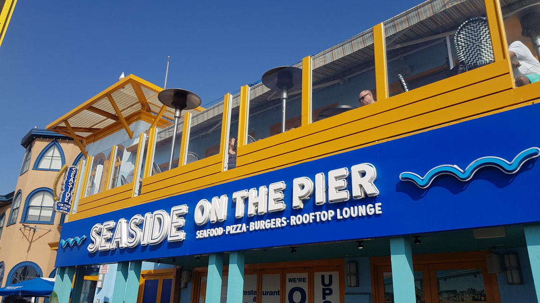 Seaside On The Pier: Delicious seafood and spectacular views in Santa Monica Pier