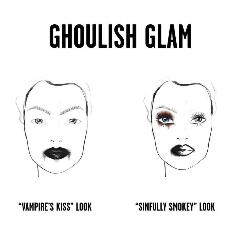 Free Ghoulish Glam MakeoverAt Sephora, Universal City Walk