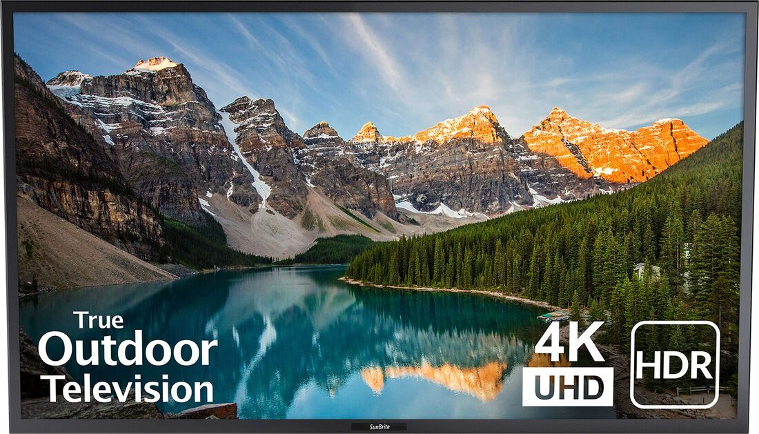 Summer movie nights in style with the SunBrite Veranda Series Outdoor 4K UHD TVs with HDR