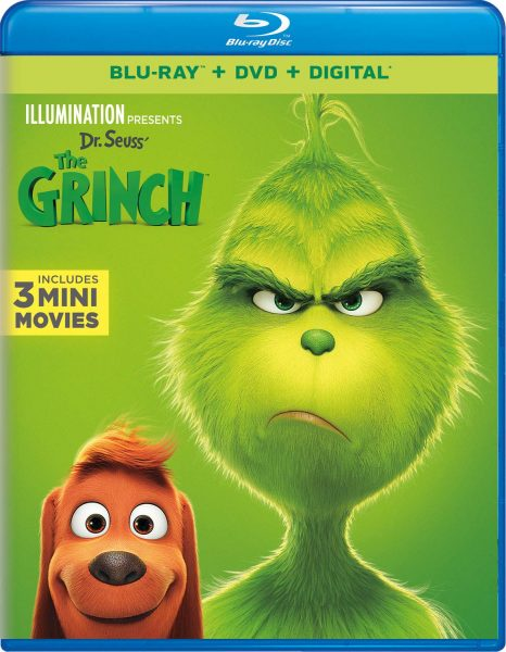 Dr. Seuss' The Grinch available now in Blu-Ray