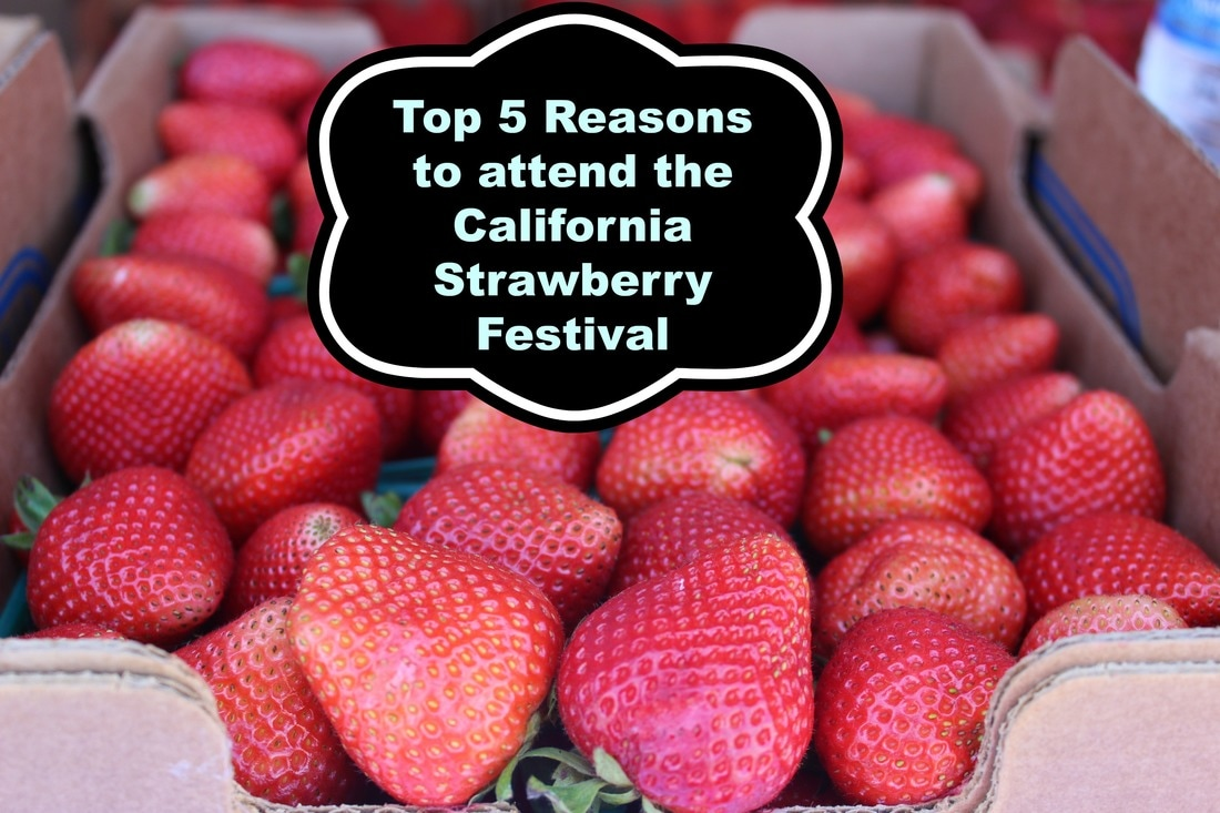 Top 5 Reasons to attend the California Strawberry Festival