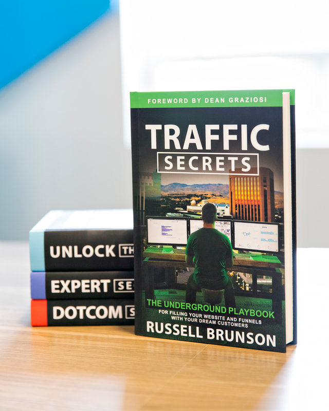 Growing my blog traffic with Russell Brunson's Traffic Secrets
